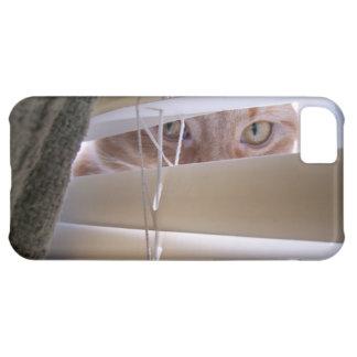 Gato en la ventana funda para iPhone 5C