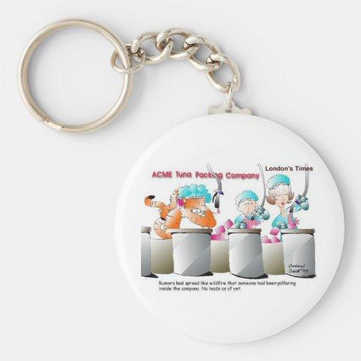 Gato en regalos y coleccionables divertidos de la  llavero personalizado