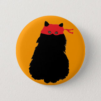 Gato Enmascarado Button