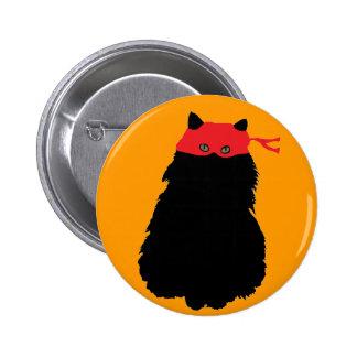 Gato Enmascarado 2 Inch Round Button
