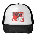 Gato enojado de Tom y Jerry Gorro De Camionero
