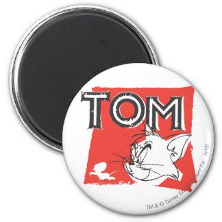 Gato enojado de Tom y Jerry Imán Redondo 5 Cm