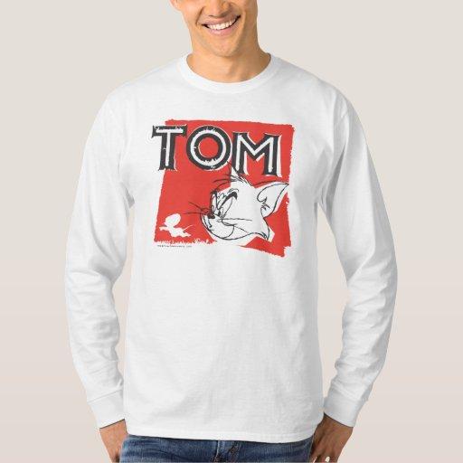 Gato enojado de Tom y Jerry Playera