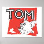 Gato enojado de Tom y Jerry Poster