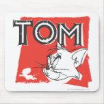 Gato enojado de Tom y Jerry Tapete De Raton