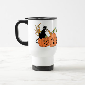 Gato fantasmagórico taza de café