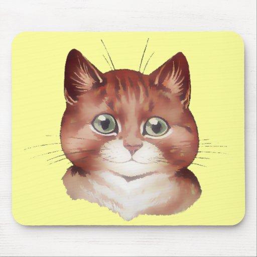 Gato feliz Mousepad