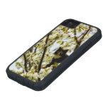Gato floreciente iPhone 5 funda