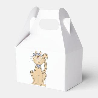 Gato fresco caja para regalos de fiestas