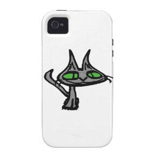 Gato fresco Case-Mate iPhone 4 carcasa