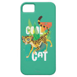 Gato fresco Fuli del guardia el | del león Funda Para iPhone SE/5/5s