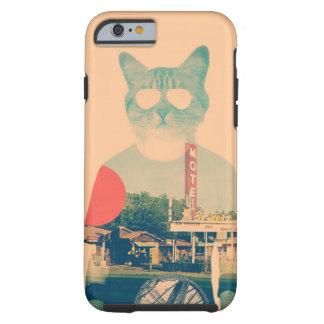 Gato fresco funda de iPhone 6 tough