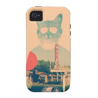 Gato fresco iPhone 4/4S carcasa