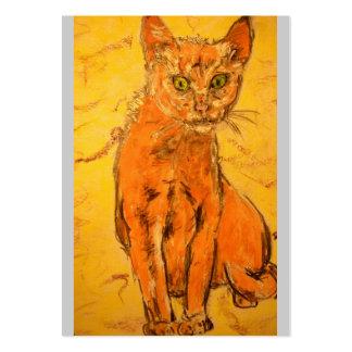 gato fresco plantillas de tarjeta de negocio