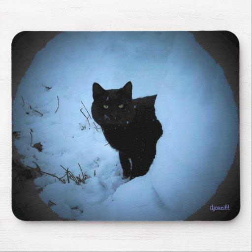 Gato fresco por el djoneill alfombrillas de raton
