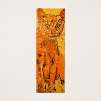 gato fresco tarjetas de visita mini