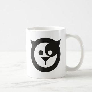 Gato fresco taza básica blanca