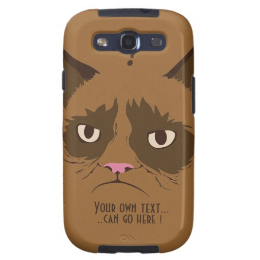 Gato Galaxy S3 Fundas