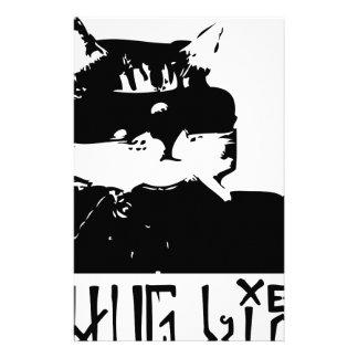 gato-gamberro-vida-cholo personalized stationery