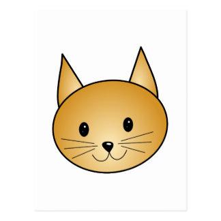Gato. Gatito lindo del jengibre Postales