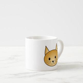 Gato. Gatito lindo del jengibre Tazas Espresso