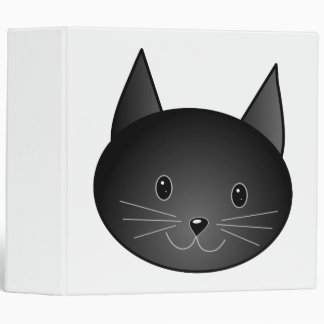 "Gato. Gatito negro lindo Carpeta 2"""