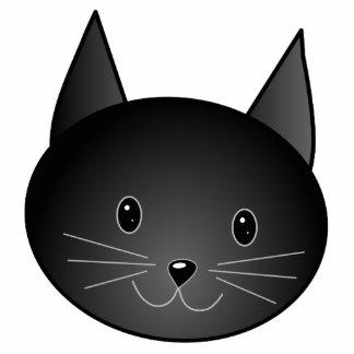 Gato. Gatito negro lindo Escultura Fotografica