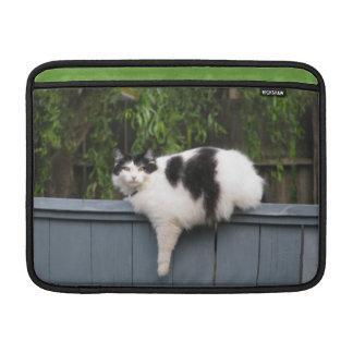 Gato gordo funda para macbook air