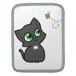 Gato gordo y su abeja manga de iPad