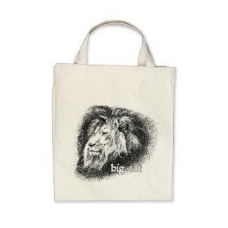 Gato grande… bolsa de mano