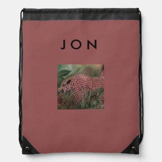 Gato grande de la mochila del lazo para Jon