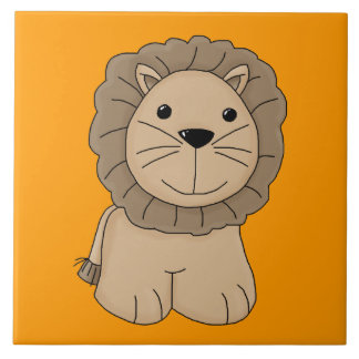 Gato grande del dibujo animado del gato salvaje li azulejos