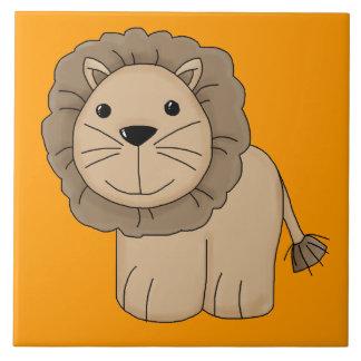 Gato grande del dibujo animado del gato salvaje li tejas