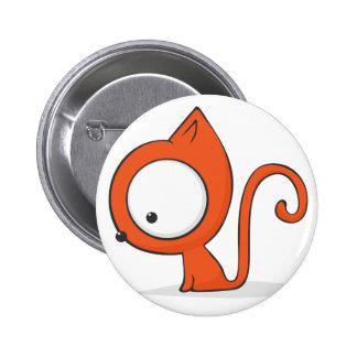 gato Grande-observado Pin