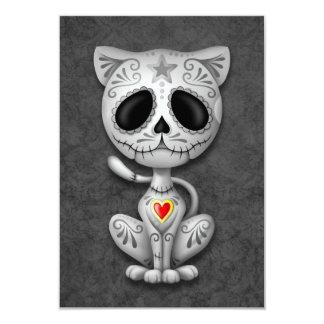 Gato gris del gatito del azúcar del zombi anuncios