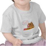 Gato gruñón adaptable camiseta