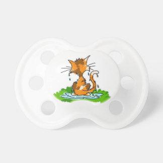 Gato gruñón chupetes para bebés