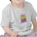 Gato gruñón de la princesa y las camisetas del beb