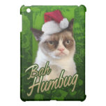 Gato gruñón del embaucamiento de Bah iPad Mini Protectores