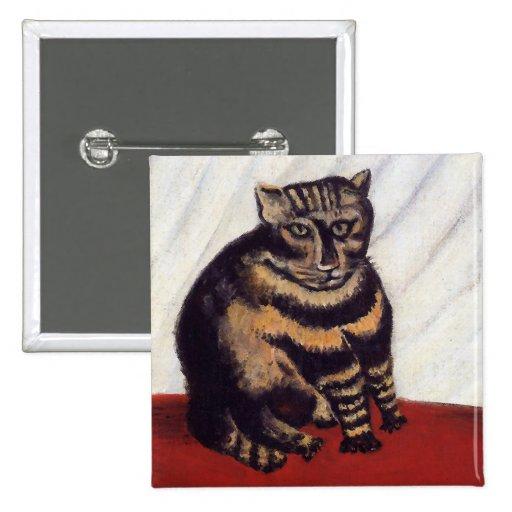 Gato gruñón del vintage pin