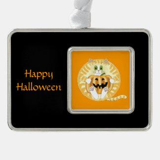 Gato Halloween de la chuchería Adornos Navideños