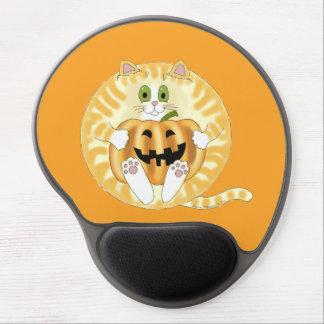 Gato Halloween de la chuchería Alfombrilla Con Gel