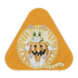 Gato Halloween de la chuchería Altavoz Bluetooth