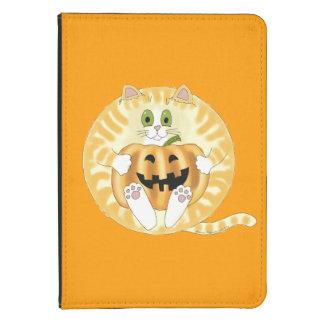 Gato Halloween de la chuchería Funda Para Kindle