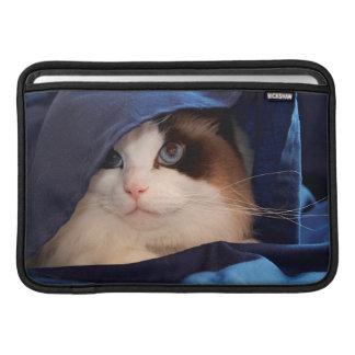 Gato humano 2 de la sociedad funda para macbook air