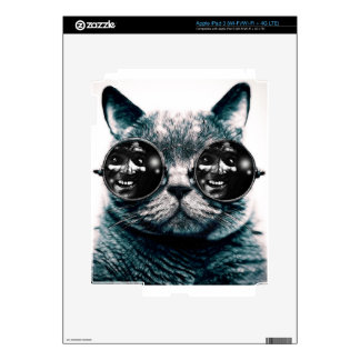 gato iPad 3 pegatinas skins