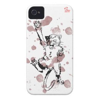 gato iPhone 4 funda