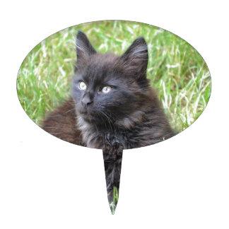 gato - jardín figuras para tartas