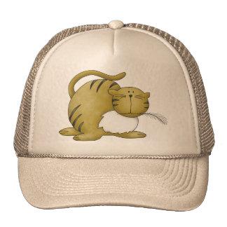Gato juguetón gorras de camionero