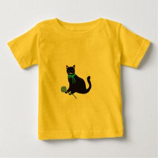 Gato juguetón playeras
